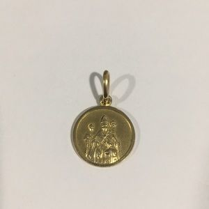 Jewelry - 14k Yellow Gold Pope Christian Religious Charm
